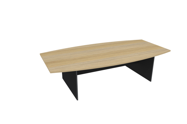 H-Base Boat Shape Table