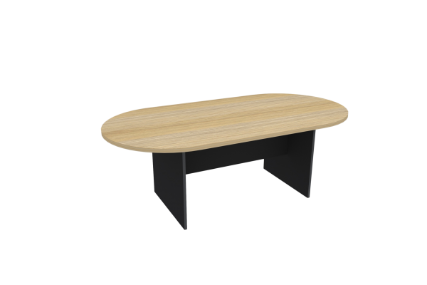 H-Base D-End Table