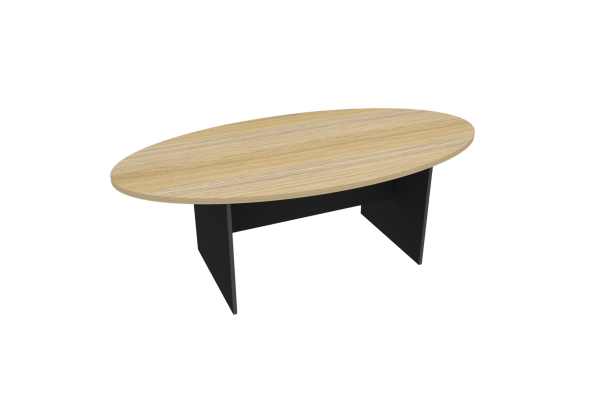 H-Base Oval Table